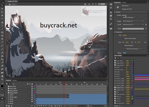Adobe Animate CC Crack Latest Version