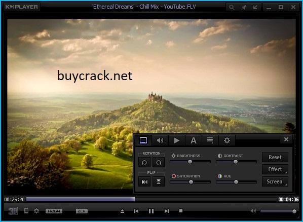 KMPlayer 4.2.2.50 Crack