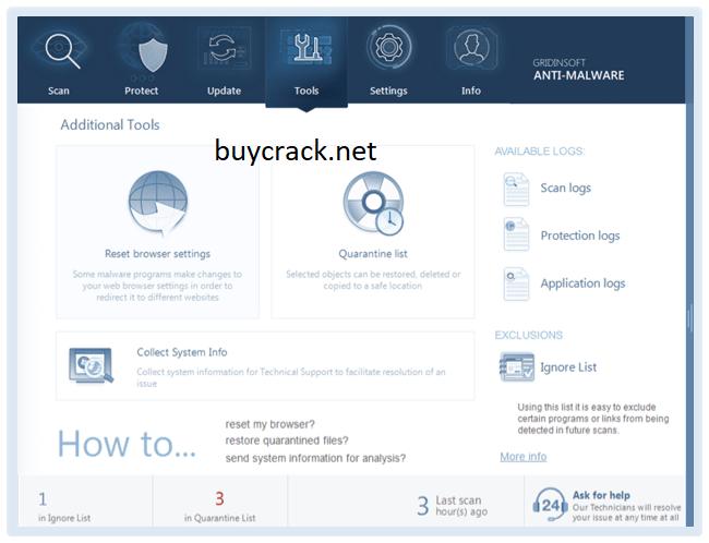GridinSoft Anti-Malware 4.1.89 Crack Latest Version
