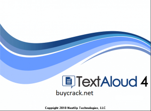 NextUp TextAloud 4.0.62 Crack with Activation Key Free Download 2021
