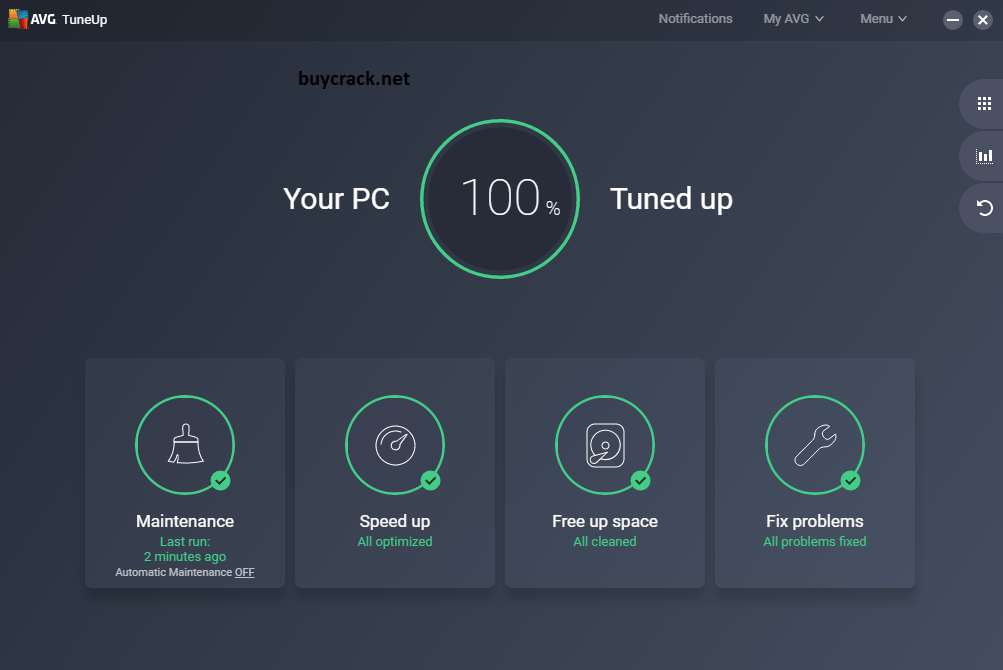 AVG PC TuneUp 21.3 Crack Download