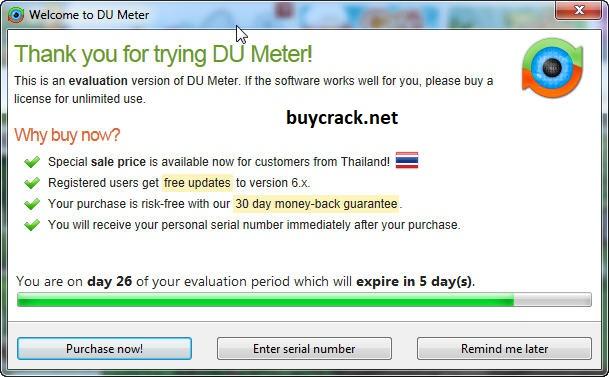 DU Meter 7.30 Crack Latest