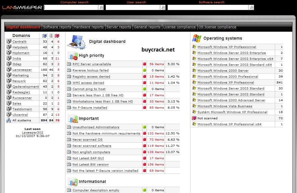 Lansweeper 9.0.10.2 Crack Download