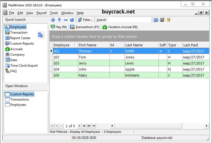 Zpay PayWindow Payroll System 19.0.19 Crack Latest