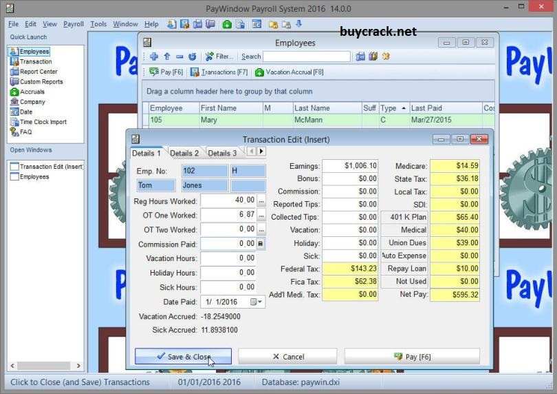 Zpay PayWindow Payroll System 19.0.19 Crack Download